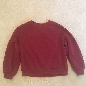 Aerie Balloon Sleeve Sweater